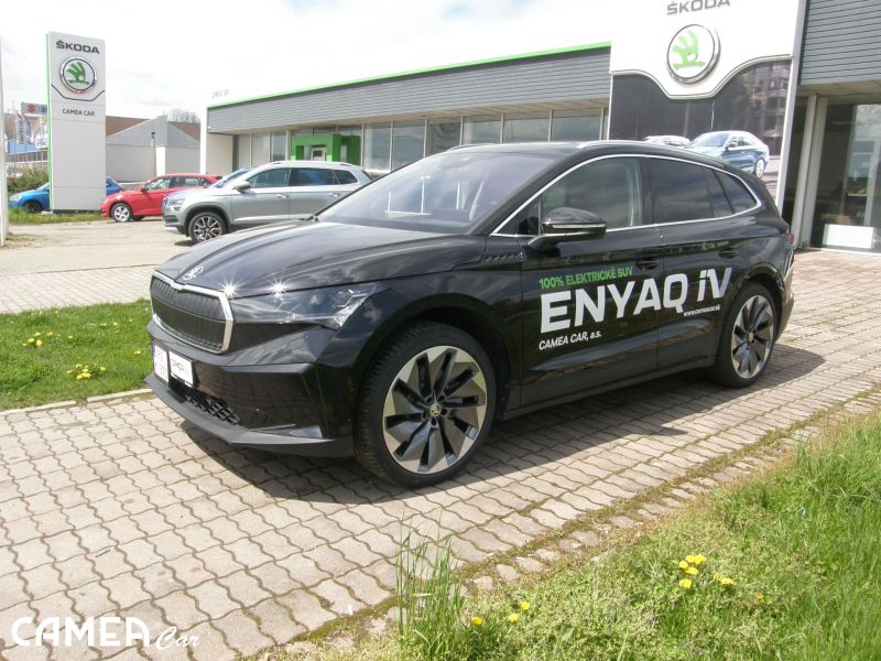 ŠKODA Enyaq iV First EDITION plus  80-150kW,82kWh